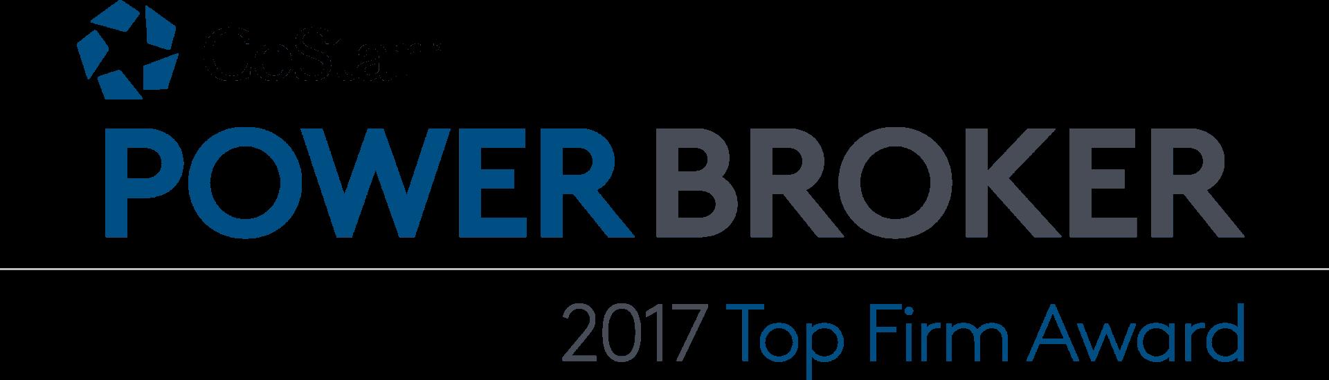 CoStar Power Broker – Top Sales Firm